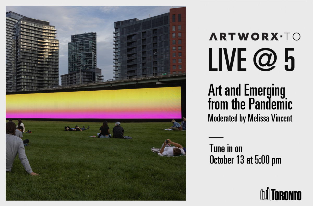Event Image for Live @ 5: Art and Emerging from the Pandemic