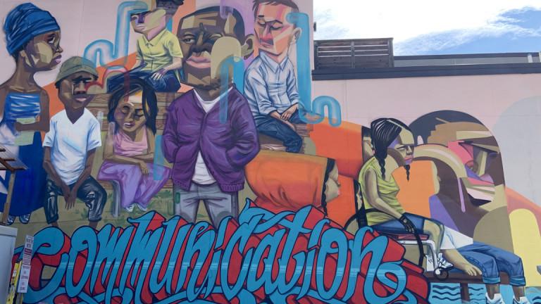 Communication Mural